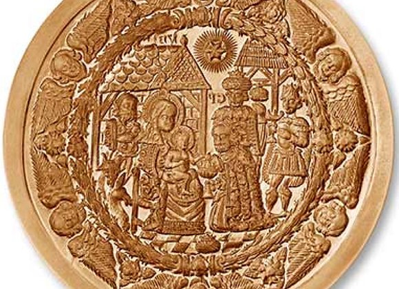 AP 1160 Three Kings from 1713 Christmas springerle cookie mold - Anis-Paradies