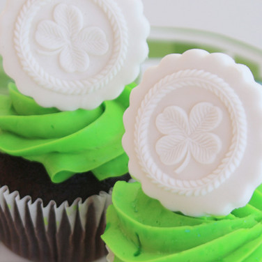 shamrock springerle cookie mold