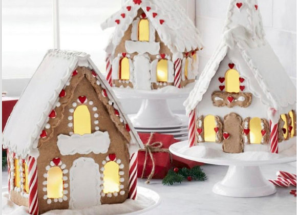 Gingerbread House Chalet Baking Kit by Gingerhaus