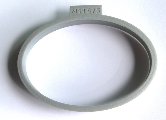 C-M11525 Oval Shaped Cookie Cutter by Gingerhaus