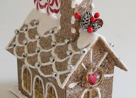 Church Glitter House by Gingerhaus