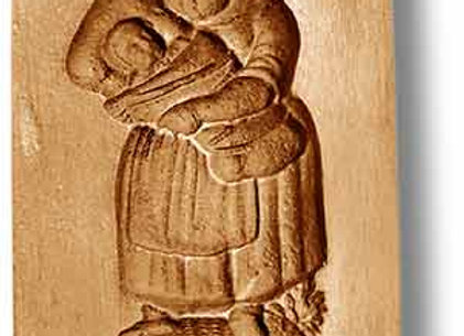 AP 9918 Mother with Child in Arms springerle cookie mold by Anis-Paradies