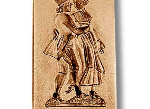 Dancing Couple circa 1800 springerle cookie mold by Anis-Paradies 6992