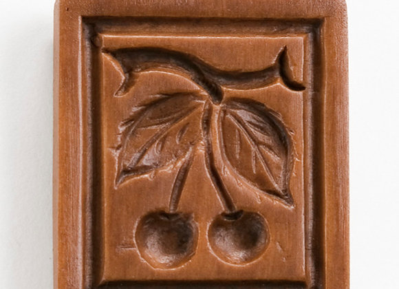 Cherry Cherries Springerle Cookie Mold  by House on the Hill M1576