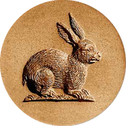 bunny rabbit springerle cookie mold anis