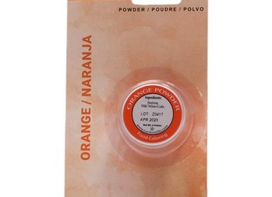 Orange Powder Food Color 1/2 oz.  by LorAnn Oils 1330-0400