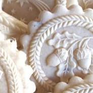 acorn springerle cookie mold
