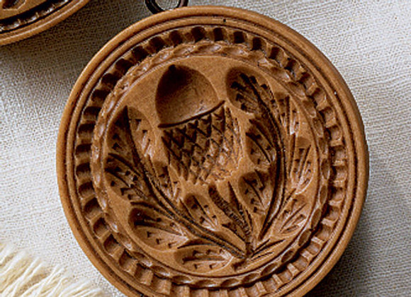 Single Acorn Springerle Cookie Mold by House on the Hill M6212