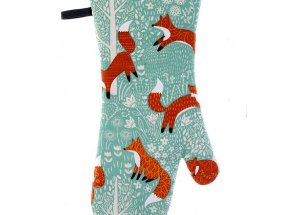 Foxy Cotton Oven Mitt by Ulster Weavers
