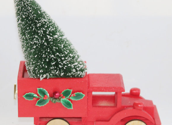 Christmas Tree Truck O Tannenbaum music box by Gingerhaus - Lee Shepherd