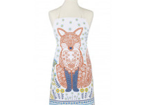 7WFX01 Woodland Fox Apron by Ulster Weavers 7WFX01