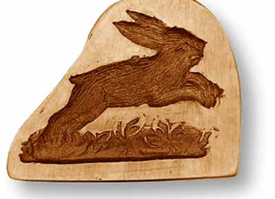 AP 3517 Jumping Rabbit springerle cookie mold by Anis-Paradies 3517