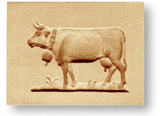AP 3460 Swiss Cow springerle cookie mold by Anis-Paradies