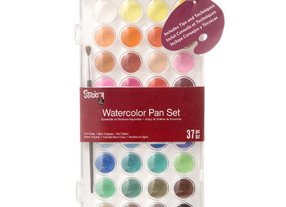 Studio 71 Watercolor Pan Set: 36 Colors  30052074
