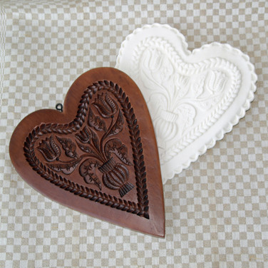 gingerhaus dutch tulips heart mold