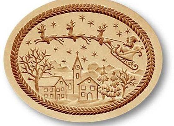 AP1094 Santa Claus is Coming springerle cookie mold by Anis-Paradies