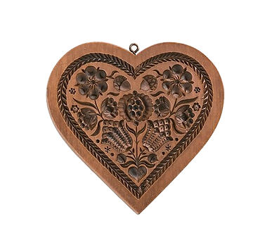heart springerle cookie mold house on the hill pomegranate