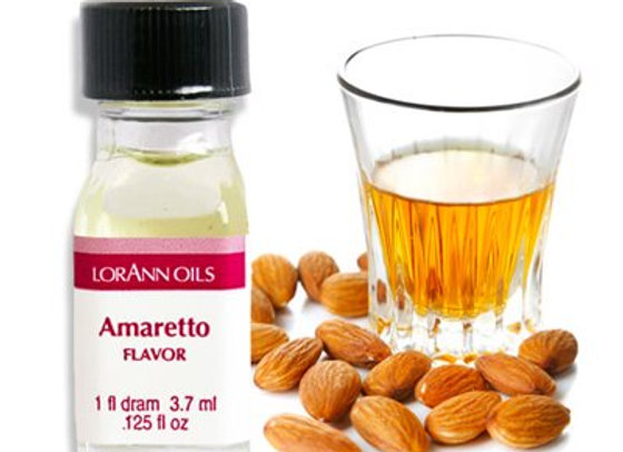 AMARETTO RUM OIL 1 DRAM - by LORANN 0380-0100