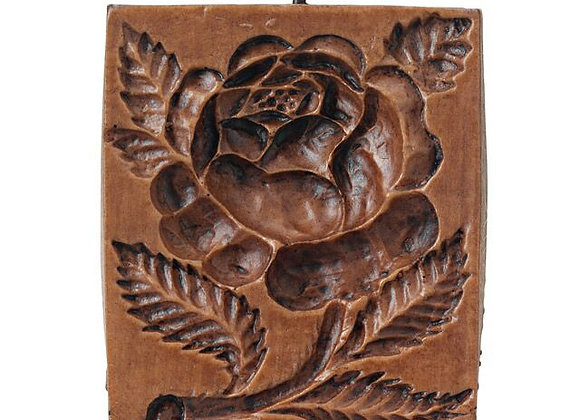Damask Rose Springerle Cookie Mold  by House on the Hill M5162