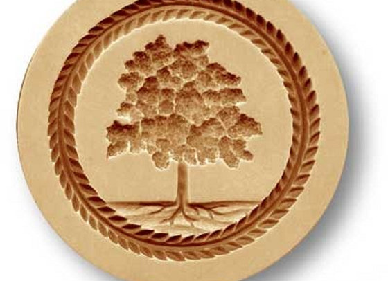 Maple Tree springerle cookie mold by Anis-Paradies 02741