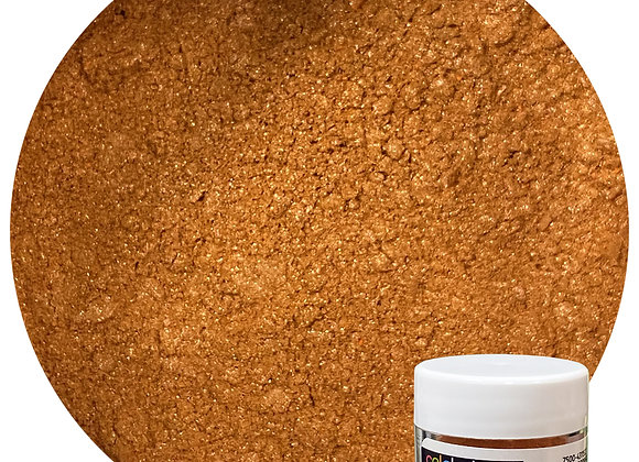 43-11522 Edible Luster Dust - Shiny Copper - by CK Products