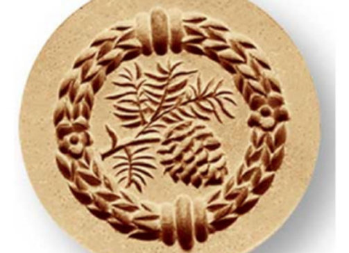 Pine Cones mini springerle cookie mold by Anis-Paradies 1228