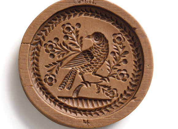 Bird on Branch Springerle Cookie Mold  by House on the Hill M5877