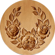 rose swag springerle cookie mold anise p
