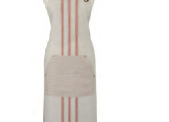 7STP01L 1880 Heritage Series - Coral Linen Apron by Ulster Weavers