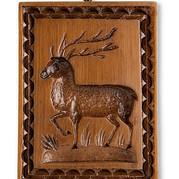 Buck Stag Springerle Mold Gingerbread Ho