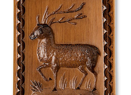 Buck Reindeer Springerle Cookie Mold  by House on the Hill