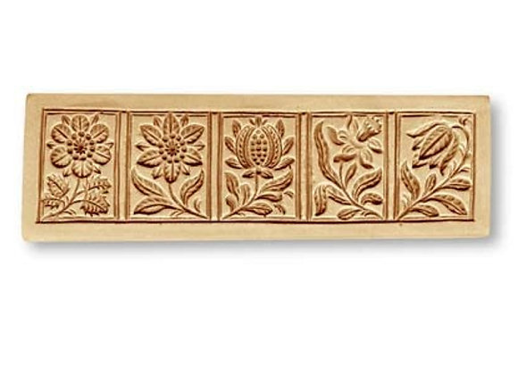 Blumen flowers springerle cookie mold by Anise Paradise