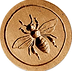bee springerle cookie mold anis paradies