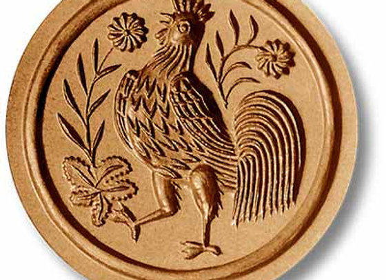3512 Rooster springerle cookie mold by Anis-Paradies