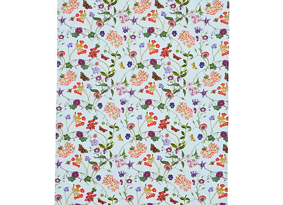 022MDW RHS Spring Floral Tea Cotton Towel by Ulster Weavers