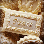 6622 Peace springerle cookie mold anis p