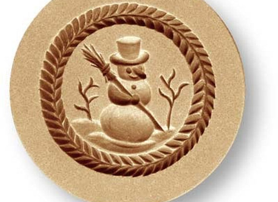 AP 1209 Snowman springerle cookie mold by Anis-Paradies