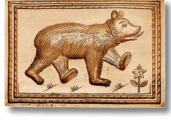 Big Bear springerle cookie mold by Anise Paradise 3441