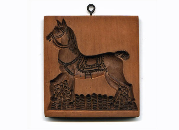 Prancing Horse Springerle Cookie Mold  by House on the Hill