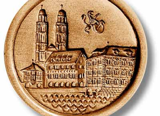 Zurich Great Cathedral Church springerle cookie mold by Anis Paradies 4654