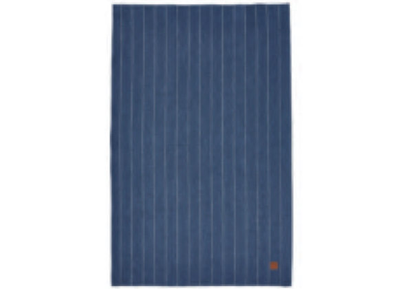 000PSP 1880 Heritage Series Indigo Stripe Linen Tea Towel - Ulster Weavers