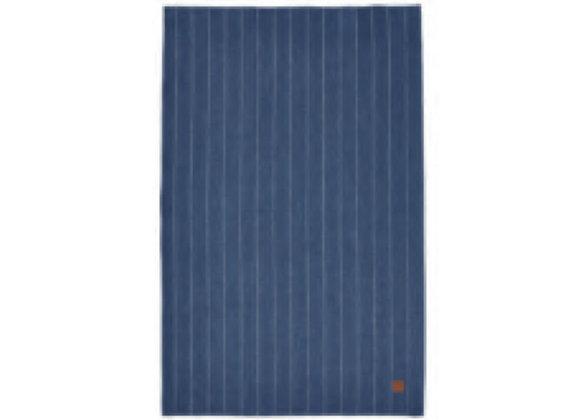 000PSP 1880 Heritage Series Indigo Stripe Linen Tea Towel - Ulster Weavers