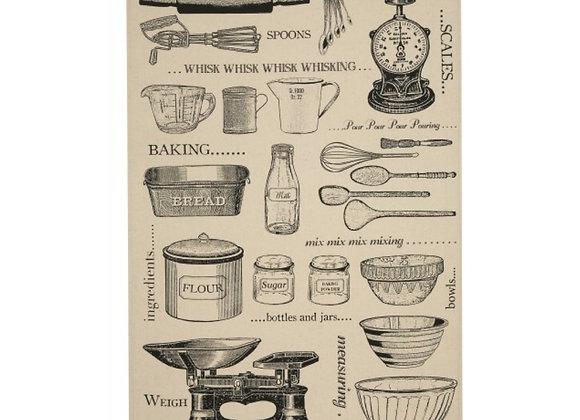 Bakers Joy Cotton Tea Towel by Ulster Weavers
