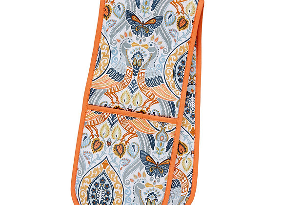 7CWO03 Cotswold Cotton Double Glove Oven Mitt by Ulster Weavers