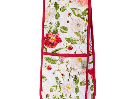 7RSE03 RHS Rose Double Glove Oven Mitt by Ulster Weavers 000RSE