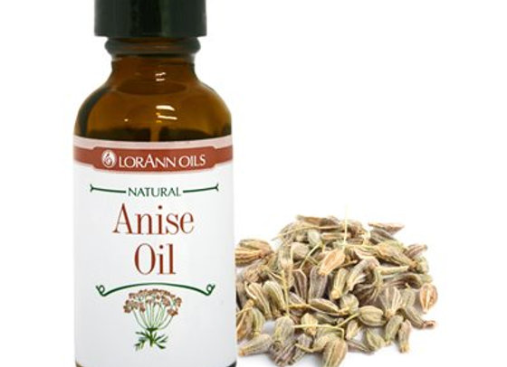 ANISE OIL NATURAL 1 OZ - by LORANN 0100-0506