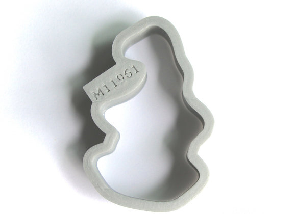 C - M11961 Gnome Elf cookie cutter by Gingerhaus