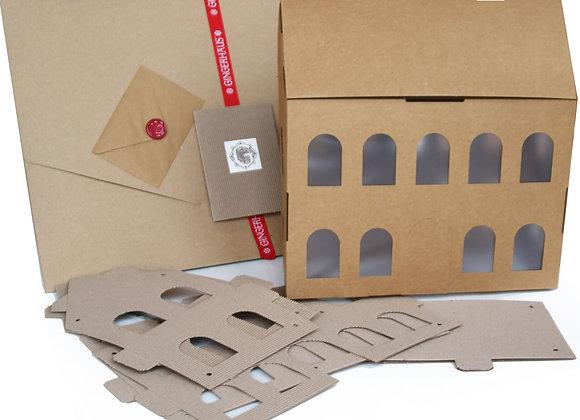 Gingerhaus Extra Large gingerbread house mansion baking kit GH1000