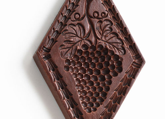 Grape Expectations Springerle Cookie Mold  by House on the Hill