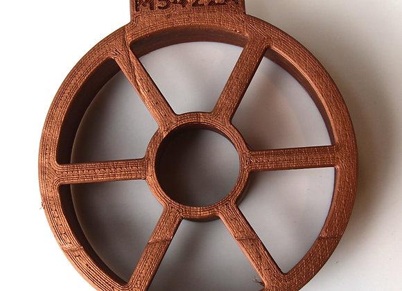 C-M5422A Bridged Wreath cookie cutter by Gingerhaus